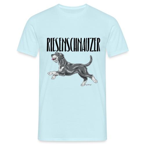Riesenschnauzer 01 - Men's T-Shirt