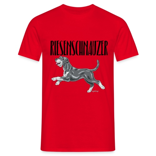 Riesenschnauzer 01 - Men's T-Shirt