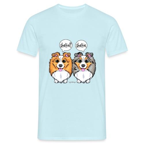 Sheltie Sheltie 3 - Men's T-Shirt