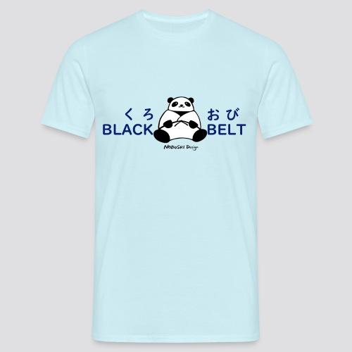 Black Belt Panda - Mannen T-shirt