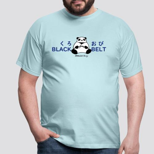 Black Belt Panda - Mannen T-shirt