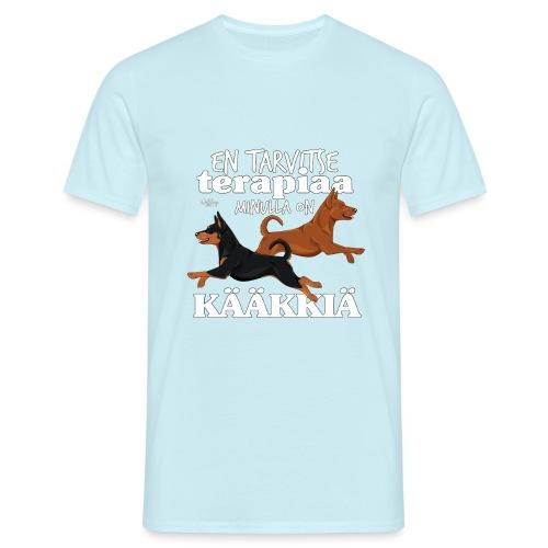 terapiakaakkia2 - Miesten t-paita