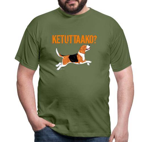 Ketuttaako Beagle - Miesten t-paita