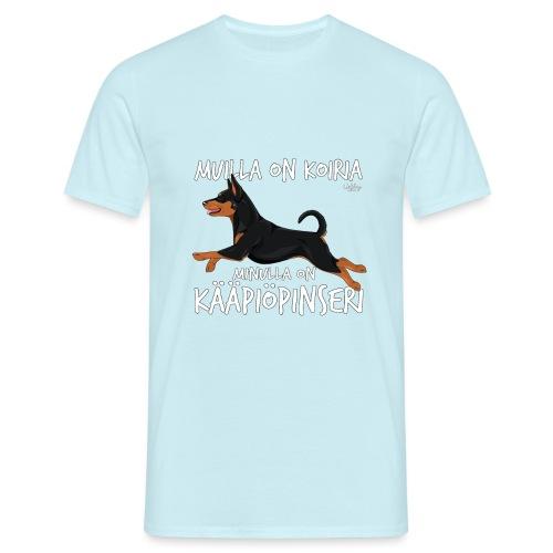 kaapiopinserikoiria2 - Miesten t-paita