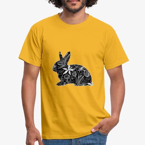 Flower Rabbit - Miesten t-paita