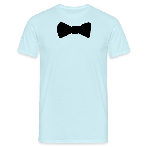 Black Bow tie - T-shirt herr