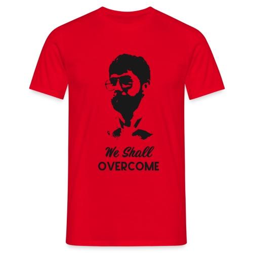 Markus Huser Head&Titel (front) - Männer T-Shirt