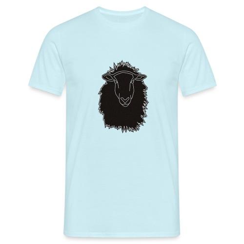 Schwarzes Schaf Logo - Männer T-Shirt
