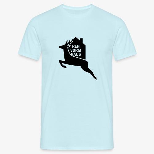 Reh-Vorm-Haus - Männer T-Shirt