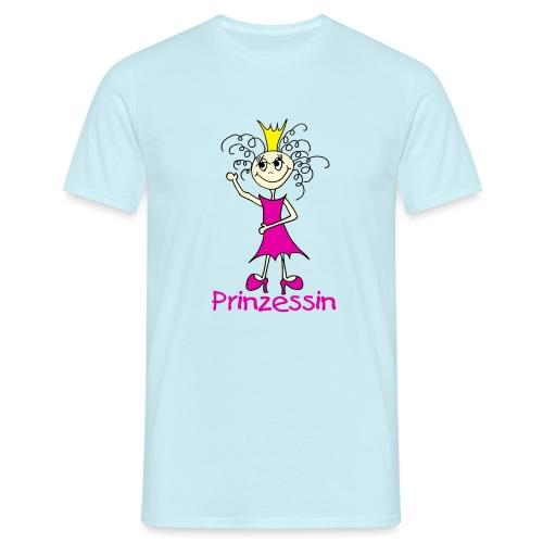 Prinzessin - Männer T-Shirt