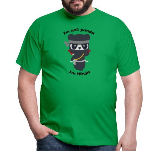 Non sono un Panda - Maglietta da uomo