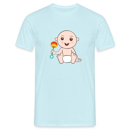 Glückliches Baby - Männer T-Shirt