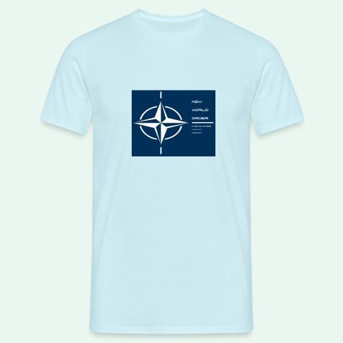 vagnacht nat - Mannen T-shirt