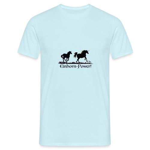 Einhorn-Power - Männer T-Shirt