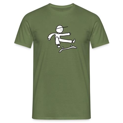 Kickflip Character - Mannen T-shirt