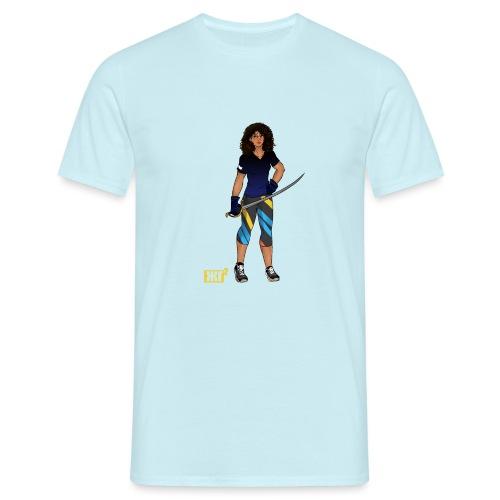 Sabre fencer - Men's T-Shirt