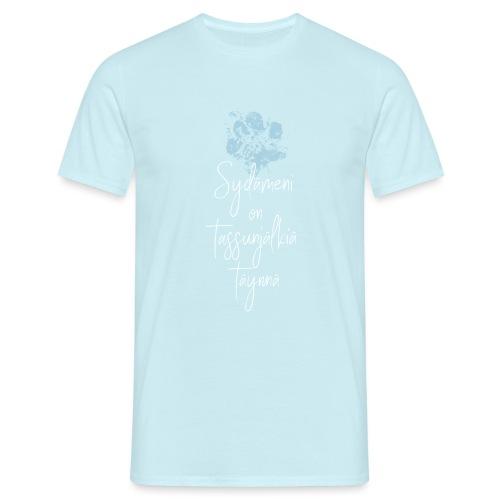 Sydämeni On Sininen - Miesten t-paita