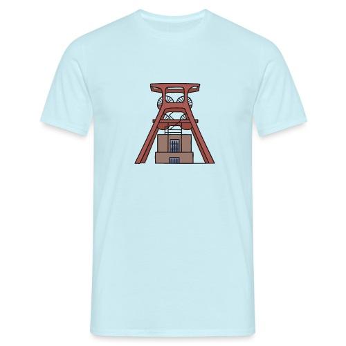 Zeche Zollverein Essen c - Männer T-Shirt