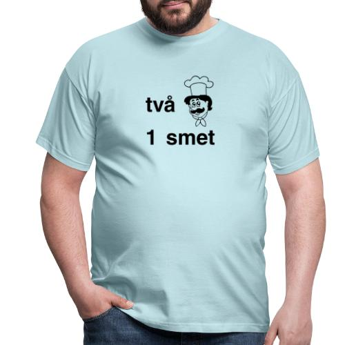 Två bagare En smet - T-shirt herr