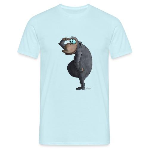 cooler Affe - Männer T-Shirt