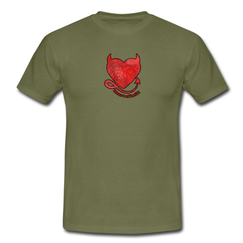 HEART OF HELL! - T-shirt Homme