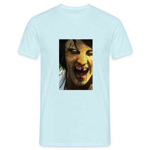 EoE PinUp Steve Sampson jpg - Men's T-Shirt
