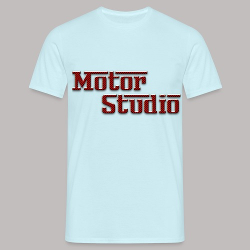 MOTORSTUDIO T SHIRT Red C - Men's T-Shirt