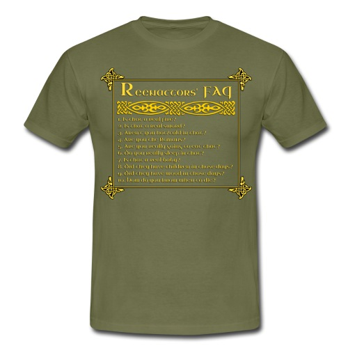 FAQ3 png - Men's T-Shirt