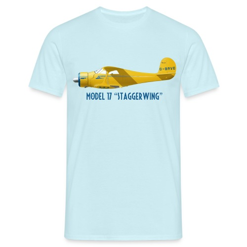 Beech Model 17 Staggerwing - Men's T-Shirt