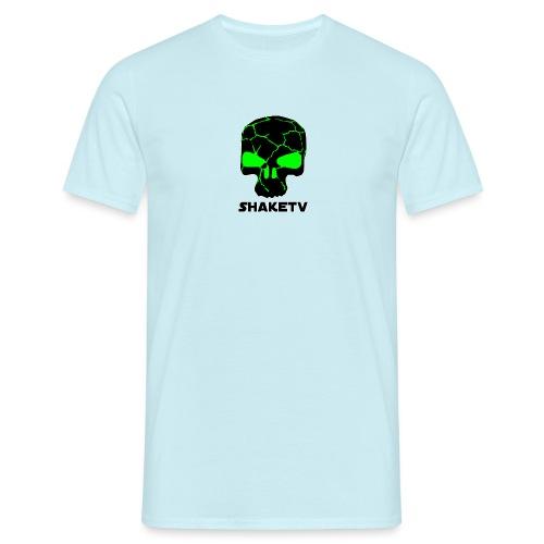 shaketv verde scritta sotto contorno bianco 4 - Maglietta da uomo