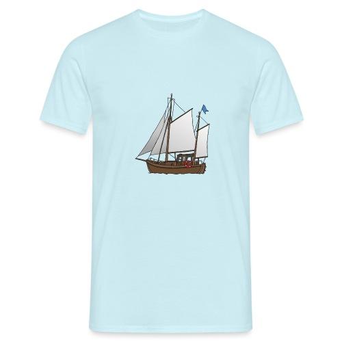 Segelboot Kutter - Männer T-Shirt