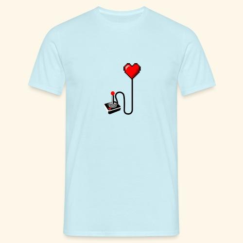 Retro Heart - Maglietta da uomo