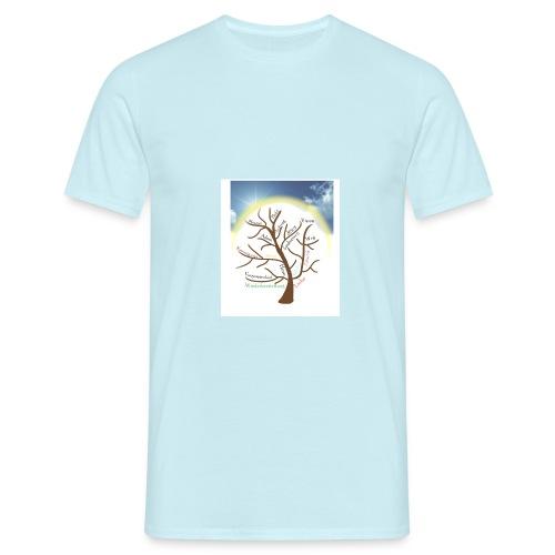 Baum mit Licht - Männer T-Shirt