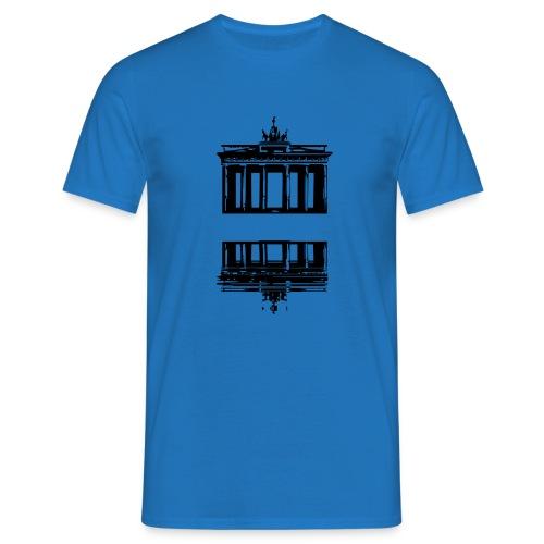 Berlin + freier Platz -> zum einschreiben - Slogan - Männer T-Shirt