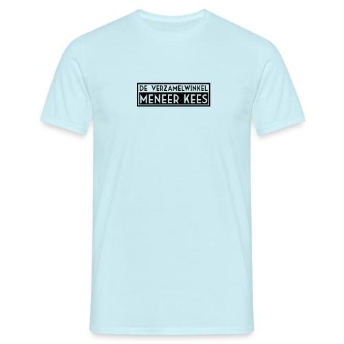 meneerkees_logo_zw - Mannen T-shirt