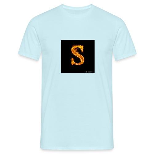 S - T-skjorte for menn