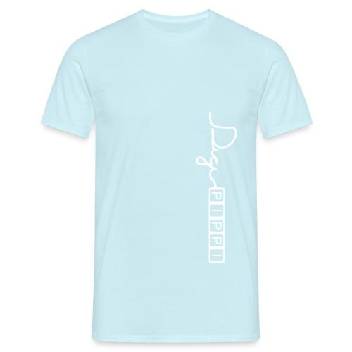 DP Logo White - Herre-T-shirt