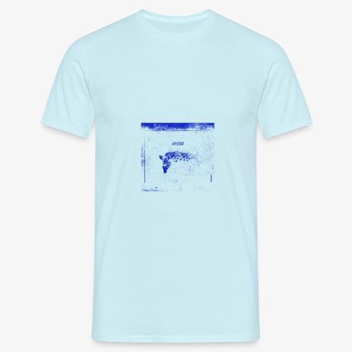 Hyena Blue - T-shirt herr