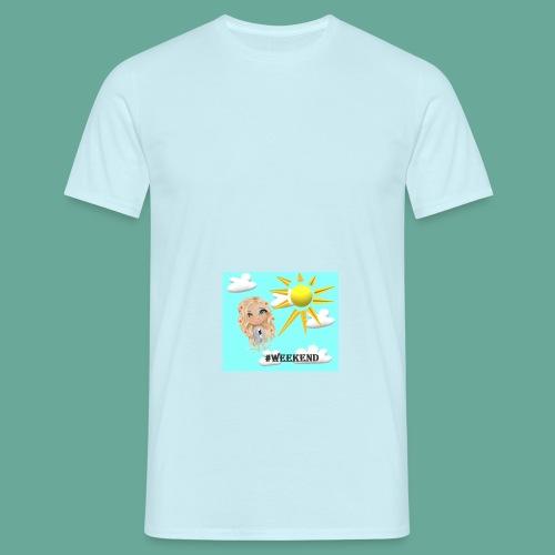 BlueSkyMomioWeekend - Mannen T-shirt