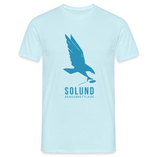 SolundSendebrettlaug-B - T-skjorte for menn