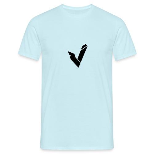 Vipz Logo Black - Männer T-Shirt