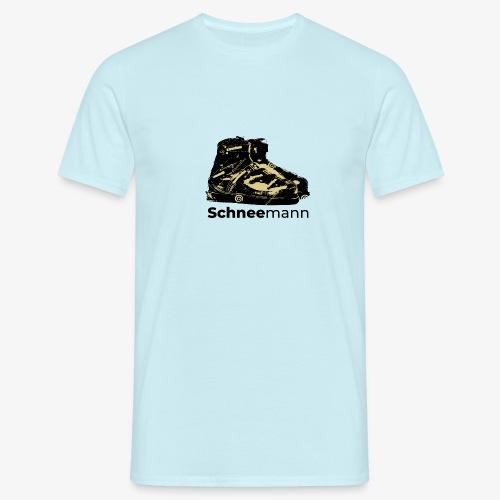 Schneemann - Männer T-Shirt