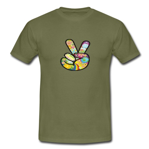 peace - Mannen T-shirt