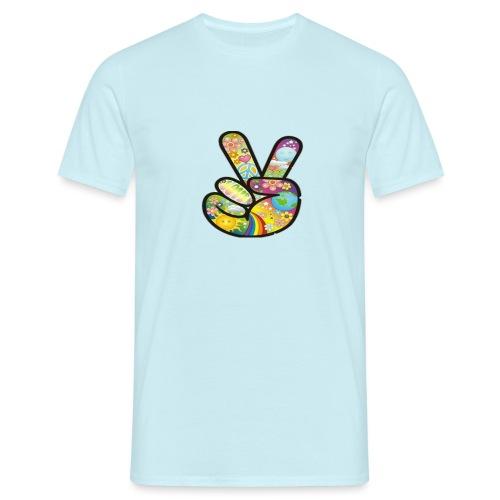 peace - Mannen T-shirt