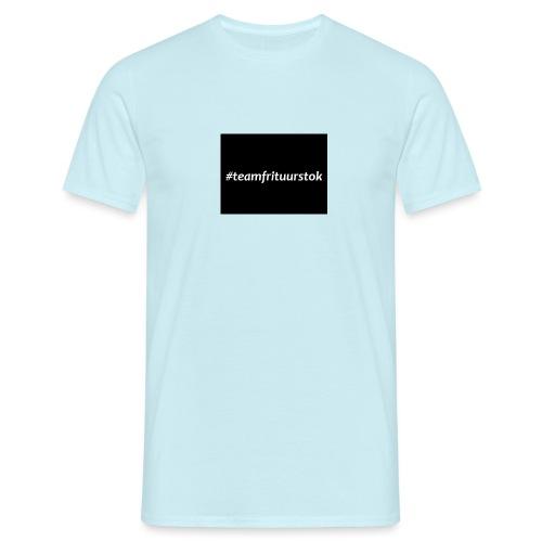 #teamfrituurstok - Mannen T-shirt