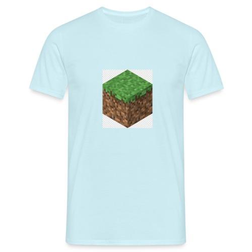 mincreft block - Mannen T-shirt