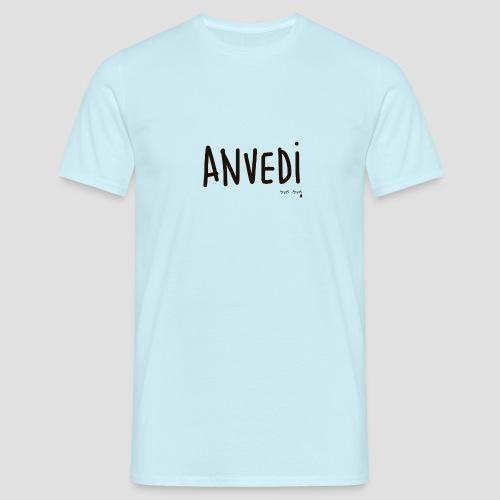 Anvedi - Maglietta da uomo