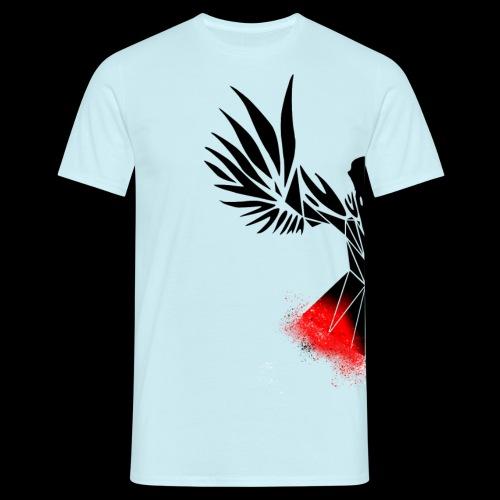 Half Raven - Men's T-Shirt