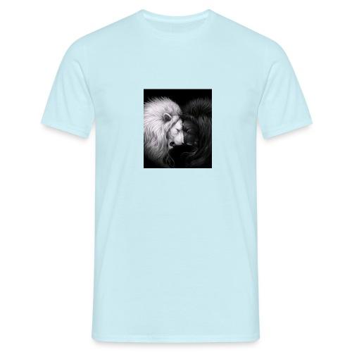 Löwe trifft Löwe - Männer T-Shirt