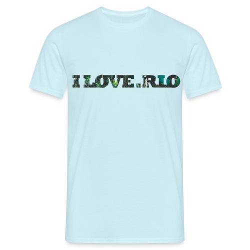 ILOVE.RIO TROPICAL N ° 3 - Men's T-Shirt